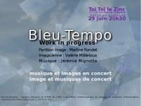 Bleu-Tempo – Martine Rondet - 2011
