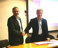 Le LIRIS signe une convention avec l'Institut des Sciences de l'Homme de Lyon