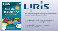 Fête de la science 2017 au LIRIS